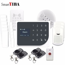 SmartYIBA WIFI GSM Alarmes Touch Key RFID Keypad Panic Alarm Wireless App Alarm Control Door Open/Close Reminder Alarm Kit