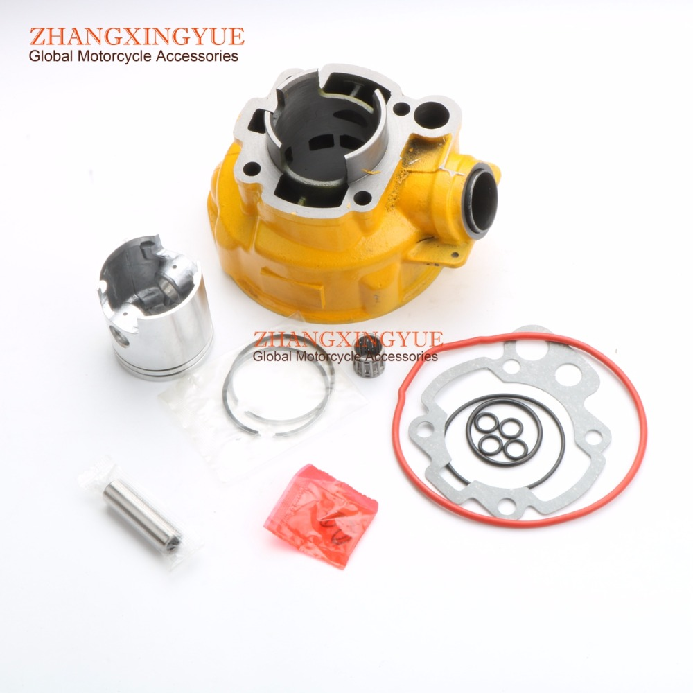 70cc cylinder kit for Peugeot 50 xp6 xr6 AM6 47mm/12mm gy6 80cc 47mm cylinder kit