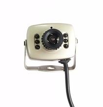 NEW HD AHD 720P/1MP Mini Analog High Definition Surveillance Camera infrared night vision CCTV video Camera Free shipping
