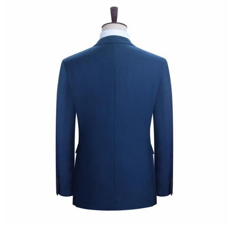 One giacca Uomini Uomo Pantaloni Belli Su Abiti Sposo Button