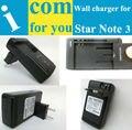 """Batería cargador de Pared cargador de viaje USB Para Star Note 3 N9000 N9006 U9000 N9002 5.7 """""""" YiBoYuan """"alta calidad garantía de Seguridad"""