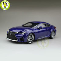 1/18 RCF литая под давлением модель автомобиля Suv коллекция хобби подарки синий
