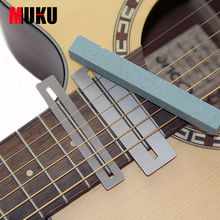 2 unids kavaborg Guitarras Bass fretboard Fret protector, 1 unids Fret sanding fit todos Guitarras, bajo, frets cuello polaco luthier