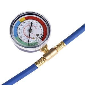 Image 5 - Car Air Conditioning Repair Tool R134a Air Conditioner Fluoride Tube Quick Release Refrigerant Connector Cold Pressure Gauge