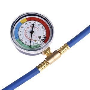 Image 5 - Ferramenta de reparo de ar condicionado automotivo, tubo de fluxo de ar condicionado r134a, liberação rápida, conector refrigerante, medidor de pressão fria