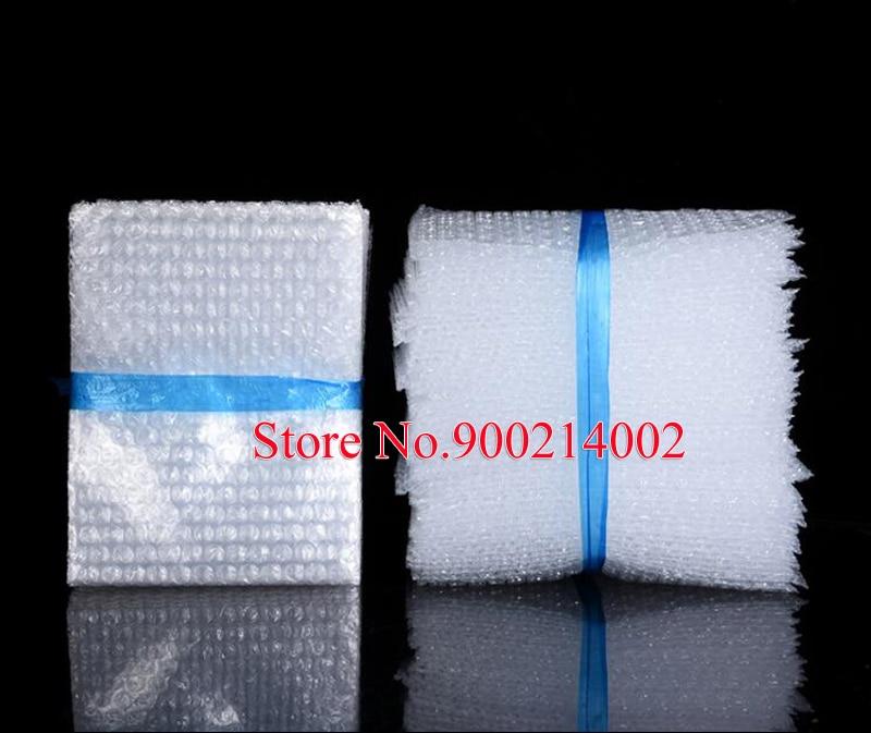 Bolsas de embalaje de burbujas blancas con envoltura de plástico de 300 piezas personalizadas bolsa de burbuja transparente PE bolsa a prueba de golpes-in Suministros de envoltorios y bolsas de regalo from Hogar y Mascotas    1