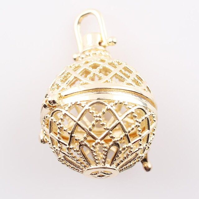 Aliexpress buy wholesale pryme angel bola magic music box cage wholesale pryme angel bola magic music box cage pendant jewelry sound engelsrufer chain necklaces jewelry aloadofball Images