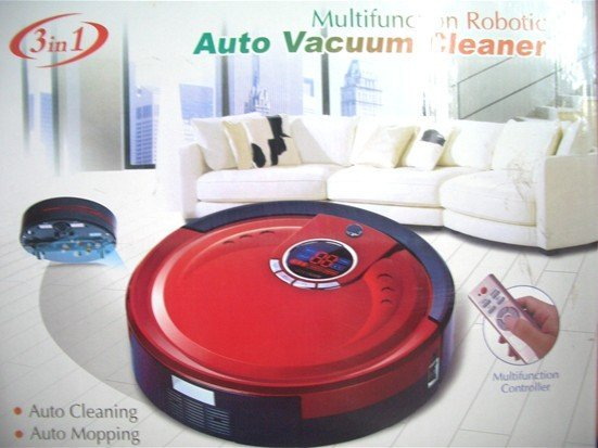 Li-ion Battery The 3 In Multifunction Automatic Intelligent Vacuum Cleaner M-788 +UV lights+Remote Controller