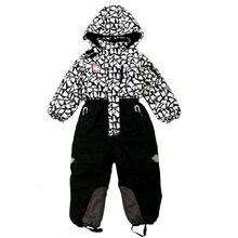 России, зимний лыжный костюм для девочки один кусок лыжные костюмы дети мальчик детские зимние комплекты комбинезон боди сноуборд лыжный одежды