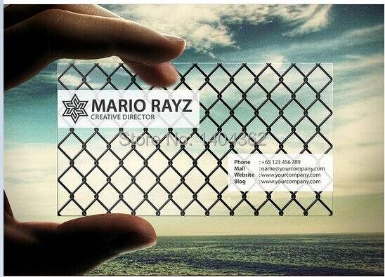 Us 45 9 15 Off Versprechen Auf Qualität Freies Design Pvc Transparent Visitenkarte Gridding Pvc Visitenkarte Günstigen Preis Freies Verschiffen