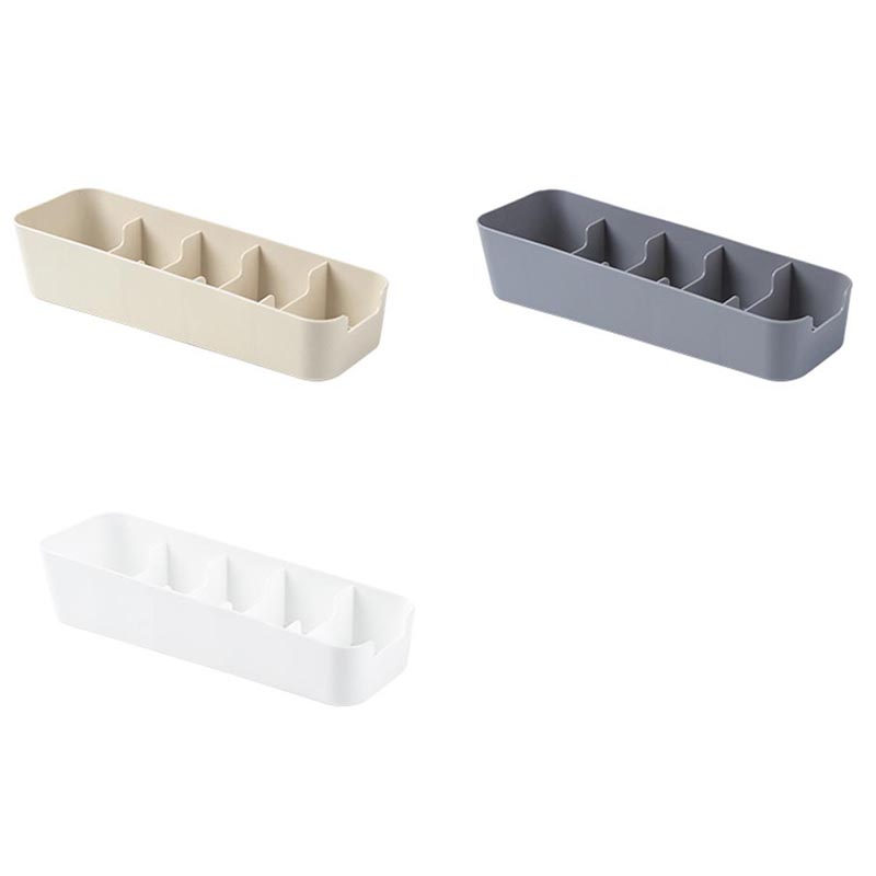 1pcs household socks briefs can be stacked trapezoid plastic storage box desktop drawer type socks box 26 5 8 19cm in Storage Boxes Bins from Home Garden