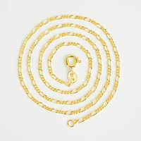 100% réel 925 Sterling argent chaîne plate Collier pour femmes hommes enfants filles garçons couleur or italie bijoux unisexe Collier Ketting