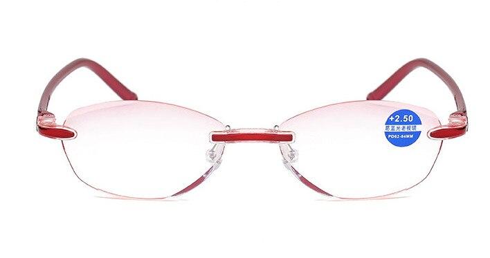 Eyesilove women reading glasses ultra light Diamond Cutting presbyopic glasses anti-blue ray +1.0 +1.5 +2.0 +2.5 +3.0 +3.50 4.00