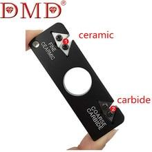1 stück DMD Im Freienwerkzeuge Keramik Wolfram stahl Messerschärfer wetzstein Tasche kostenloser versand