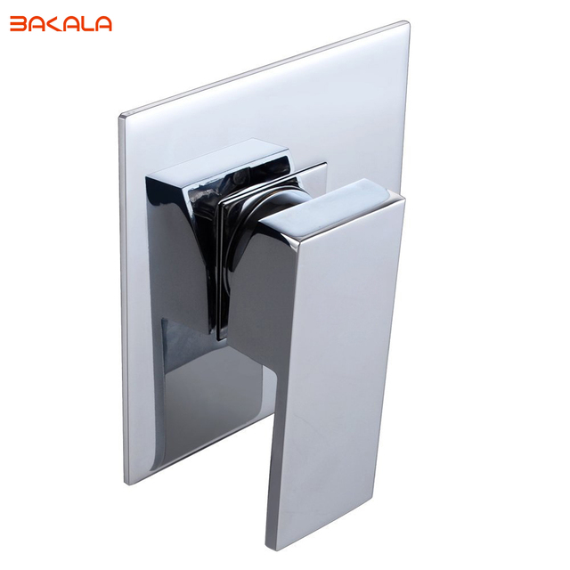 BAKALA BRASS Shower Faucet Body Valve and SOLID Stainless Steel Trim ...