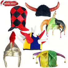 369354fbfdc Halloween Hat Fancy Dress Party Costume Cap Party Decor for Kids Adult  Dress Up Party Halloween
