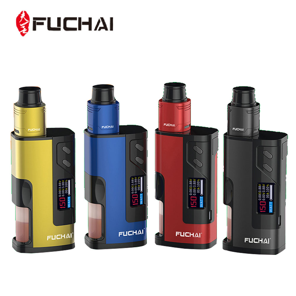 Original Fuchai Squonk 213 150W 21700 VW Kit with Fuchai RDA Maximum Output 150W with 0.96 Inch TFT Color Screen No Battery Vape боксмод sigelei fuchai 213w tc blue силик чехол