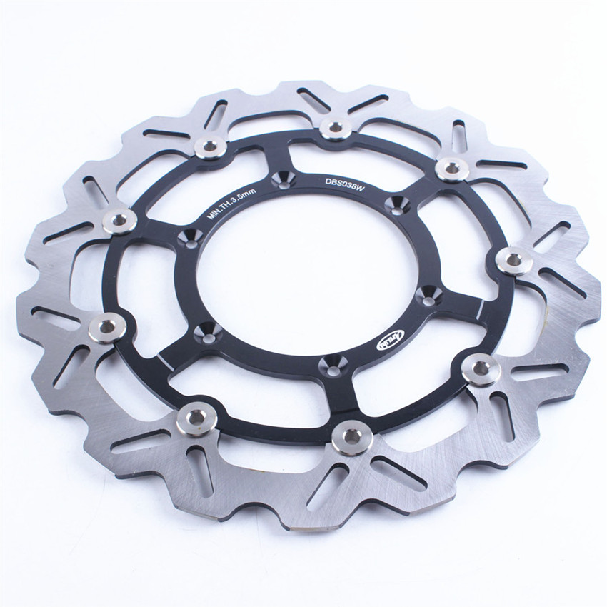Front Brake Disc Rotor For Suzuki DRZ400SM DR-Z400SM DRZ SM 400 2005-2009 2006 2007 2008 Black Motorcycle Accessories
