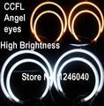 2x127mm & 2x158mm Qualidade superior kit CCFL Angel eyes para BMW E53 X5 1999-2004 azul Branco âmbar vermelho 4 cores de alto brilho