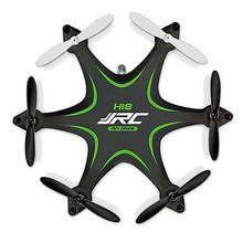 Green and Yellow color JJRC H18 Hexrcopter 2.4G 4CH 6 Axis Gyro Headless Aircraft RC Drone