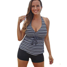 ae5762c38d7a7 Biquini High Waist Bathing Suit Sexy Two Piece Print Beach Swimming Suit  For Women Plus Size Swimwear XL 2XL Brazilian Bikin