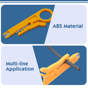 Image 5 - Mini Pocket Portable Wire Stripper Cable Crimper Pliers Crimping Tool Cable Stripping Wire Cutter Crimpatrice Tool Parts
