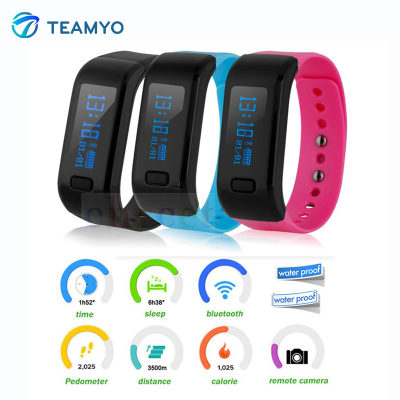 Teamyo Moving Up 2 Smart Wristband fitness tracker watches blood pressure Bluetooth4 0 wearable devices Smartwatch