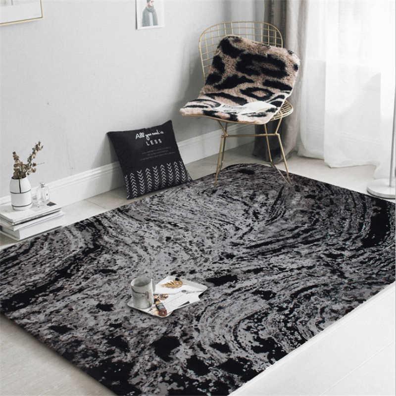 Книги по искусству абстрактный Черный кухня ковры S для гостиная спальня ковры Ручная стирка дома ковер с нордическим узором прикроватная