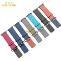 Мода Смарт часы группа Нейлон браслет для apple watch 38 мм 42 мм ремешок для часов perlon ремешок браслет наручные часы ремень Бесплатный инструмент