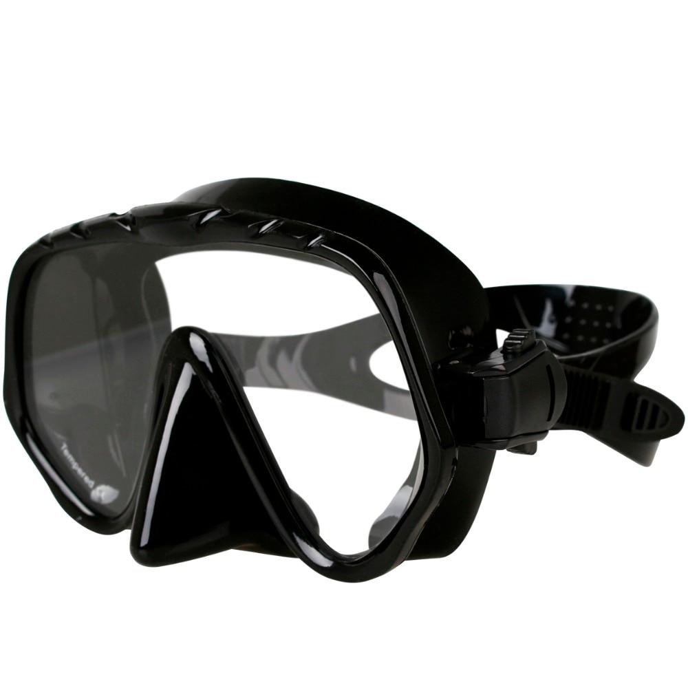 Copozz Brand Professional Skuba Diving Mask Glasögon Wide Vision - Vattensporter - Foto 5