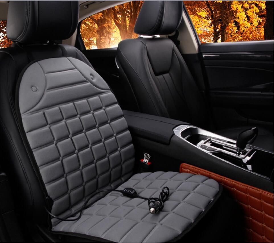 2pcs Car Heated Seat Cushion Cover Seat Heater Warmer Winter Household Cushion car driver heated seat cushion DC12V