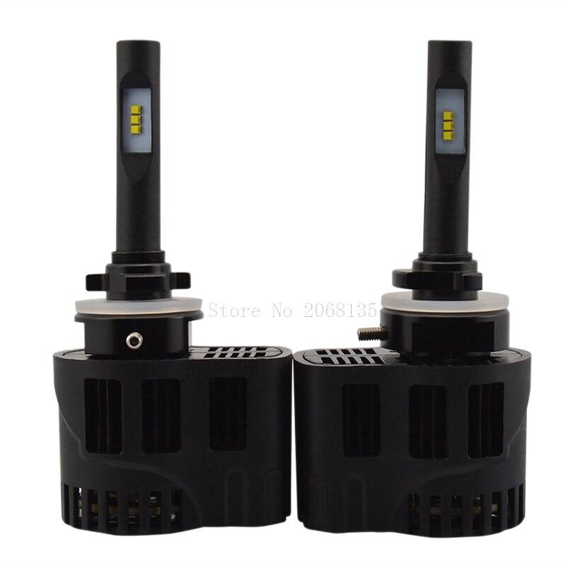 все цены на High quality Wholesale P6 25W 3200LM energey saving 881 Car LED Headlights 3000/4000/5000/6000K with Luxeon ZES chips DC11V-30V онлайн