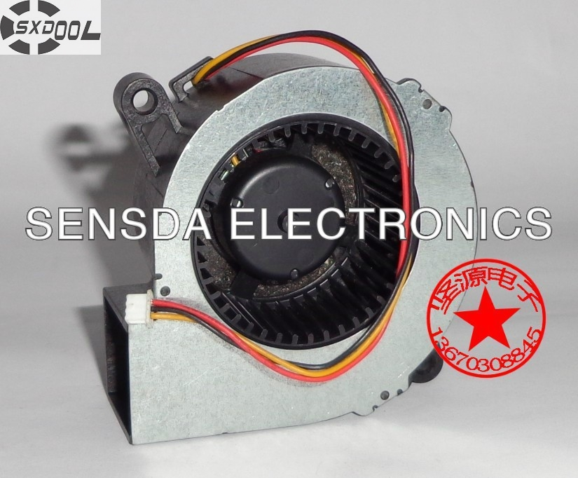 SXDOOL Free Shipping For SF6023RH12-52A Server Blower Fan DC 12V 170mA, 60x60x25mm 3-wire 3-pin Projector TDP-EX20U fan emacro sf8028h12 53a dc 12v 300ma 80x80x28mm server blower fan