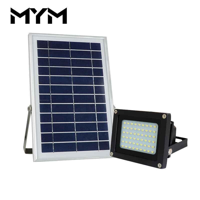 54 LED Solar Light 6V 6W Super power Lamp Outdoor Light Garden Solar Lamp Garden Wall Lights Waterproof Lamp Solar Street Light newest style led solar wall light solar lamp outdoor solar garden decorative lamp