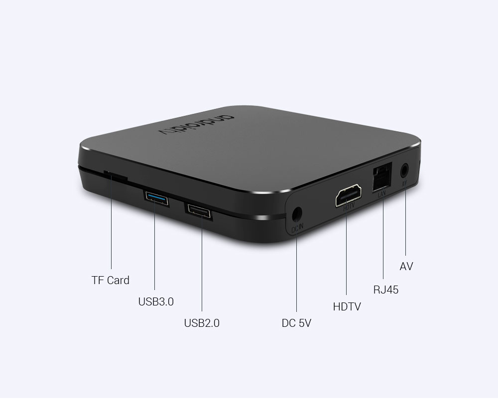 Nuevo 2019 MECOOL KM9 Android 9,0 TV Box Amlogic S905X2 Quad Core 4G DDR4 32G ROM 4 K android 9 Smart TV Box USB 3,0 reproductor de medios - 5