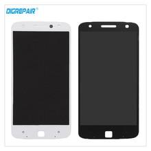 Negro/Blanco Para Motorola MOTO Droid Z Edición XLTE XT1650 Pantalla LCD Táctil Digitalizador Asamblea piezas de Repuesto de Reparación