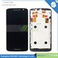 С Рамкой ЖК-Дисплей Дигитайзер для Motorola Moto X Play XT1562 XT1563 Сенсорный Экран Замена Ассамблея Части