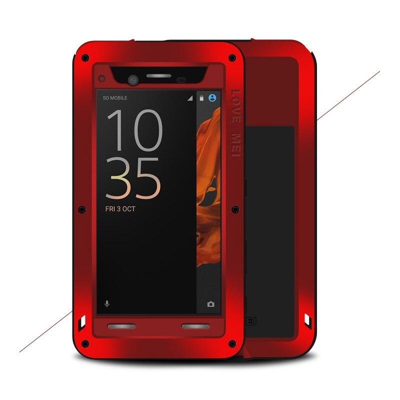 imágenes para Para Sony Xperia XZ Duro Casos AMOR MEI para Sony Xperia XZ Potente Caja de Protección A Prueba de Polvo a prueba de Golpes Dropproof-5.2 pulgadas