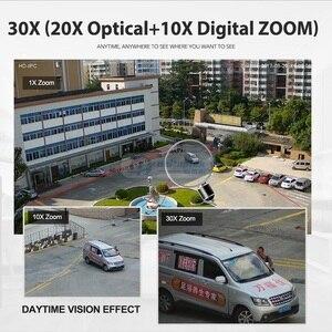 Image 4 - كاميرا 30X Zoom 1080P 4MP 5MP كاميرا IP صغيرة PTZ مقاومة للماء في الهواء الطلق قبة CCTV كاميرا الأمن IR 50M 2MP IP PTZ كاميرا IOS أندرويد