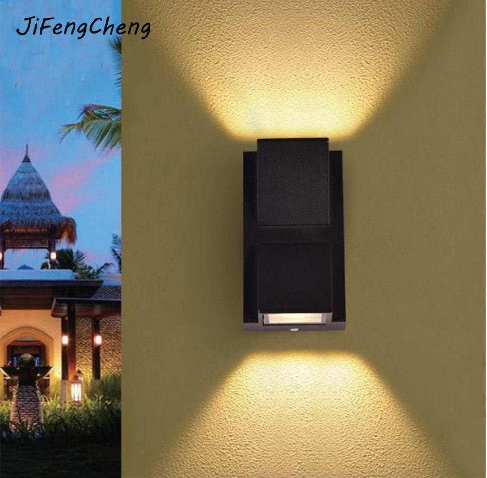 JiFengCheng LED Outdoor Waterproof Simple Wall Lamp Aisle / Corridor / Balcony / Patio / Pillar Rust-proof Lighting Luminaria