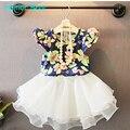 Humor Oso Nueva ropa de las muchachas t-shirt + skirt 2 unids ropa niños bebés fijados juego de los cabritos fijaron