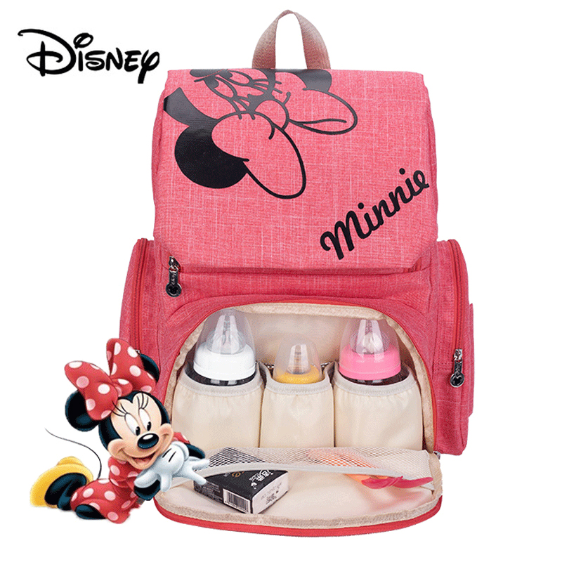 Disney Mickey Minnie Baby Diaper Bags Bolso Maternal Stroller Bag Nappy Women Backpack Maternity Bag Mommy Bag Mochila 2018