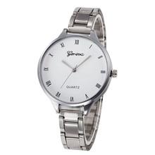 New Arrival Fashion Women Crystal Stainless Steel Analog Quartz Wrist Watch Bracele Wholesale #5004