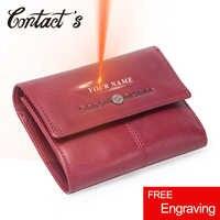 dfe513644a8e Контакта Новый Для женщин кошельки из натуральной кожи для монет маленький  кошелек для монет сумка Trifold