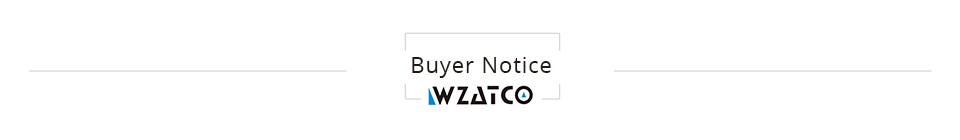 Buyer notice Projector