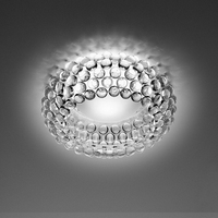 Modern Simple Acrylic Ceiling Lights Foscarini Caboche Ceiling Lamp Round Scandinave Led Lighting For Living Room Diningroom
