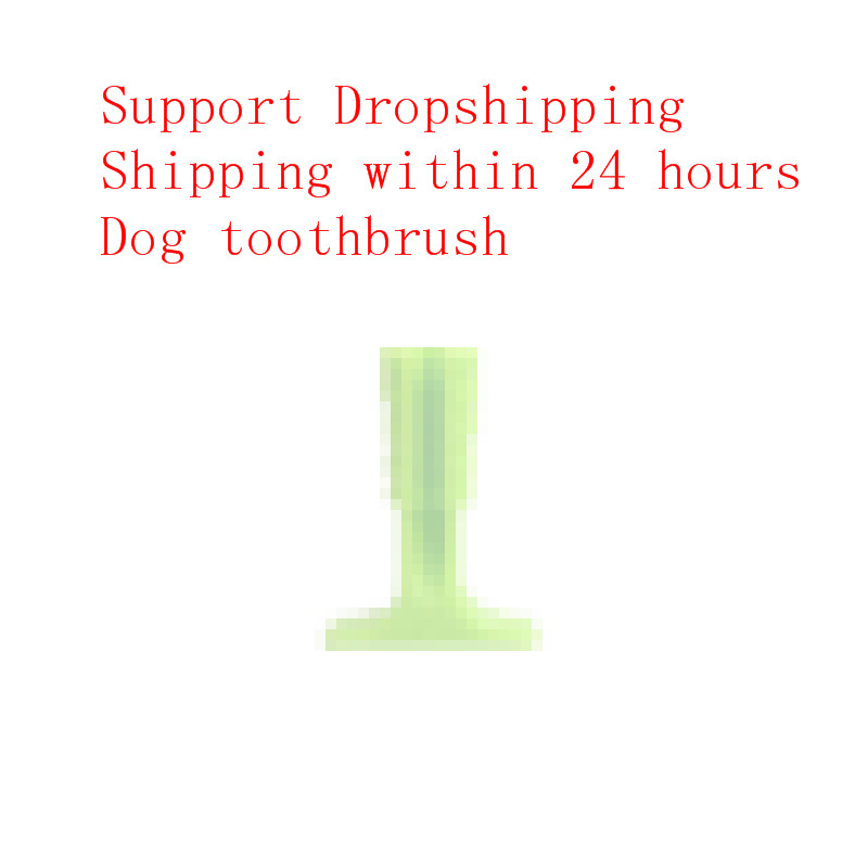Drop Shipping Dog Toothbrush Toy Brushing Stick Pet Toothbrush For Dogs
