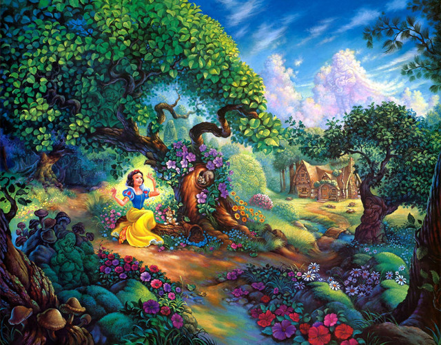 home decoration wall picture art hd print cartoons oil painting on