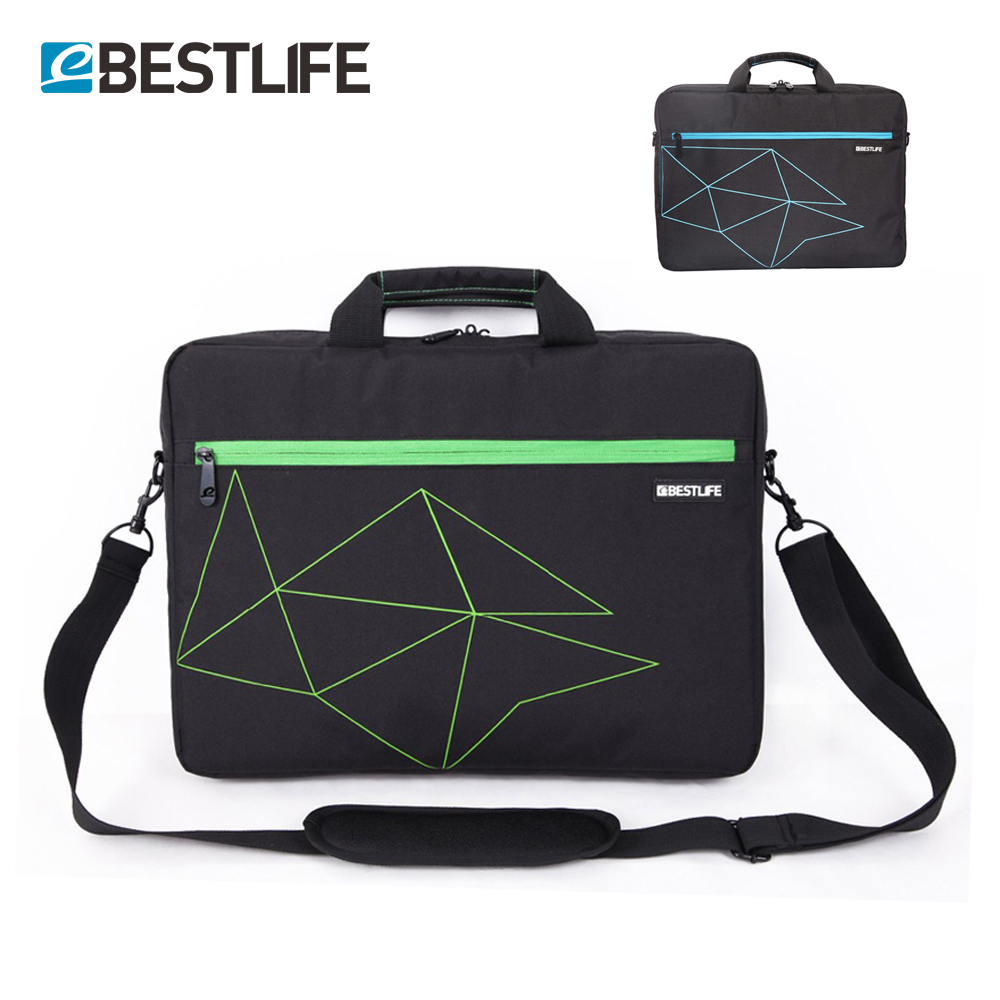 BESTLIFE Casual Business Briefcase Laptop Messager Bag Office Style Polyester Shoulder Crossbody Bags For Men Girl Sacoche Homme