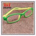 Meninos meninas de Silicone crianças óculos TR90 quadro miopia hipermetropia ambliopia leve Frames Criancas quadro D0278